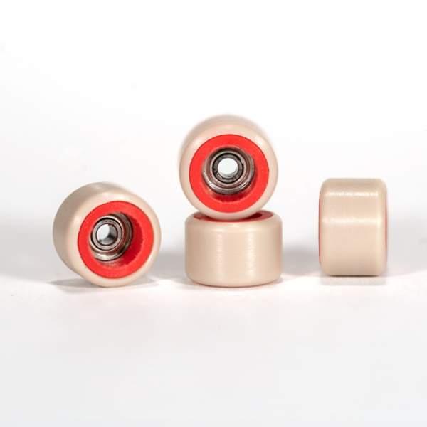FlatFace Wheels Dual Durometer Red/Tan