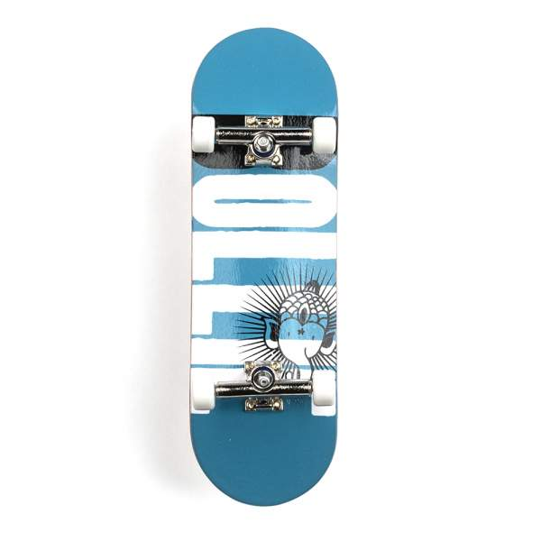 "Bollie Fingerboard ""Logo New"" blue Set"