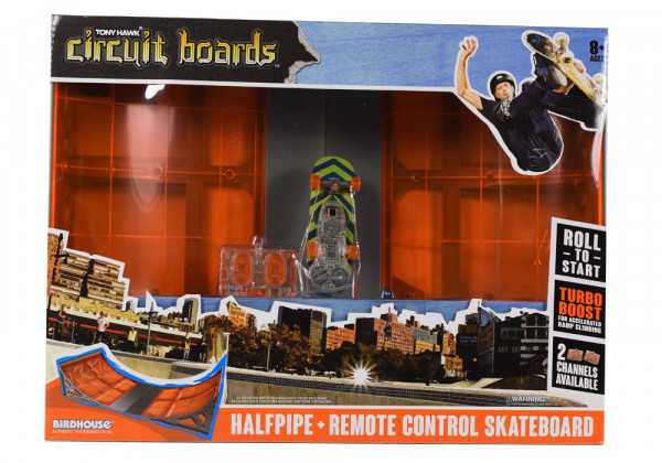 Circuit Boards Powered Halfpipe Set