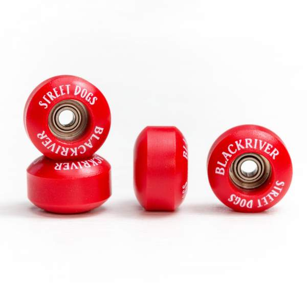 "Blackriver Wheels ""Street Dogs"" red"