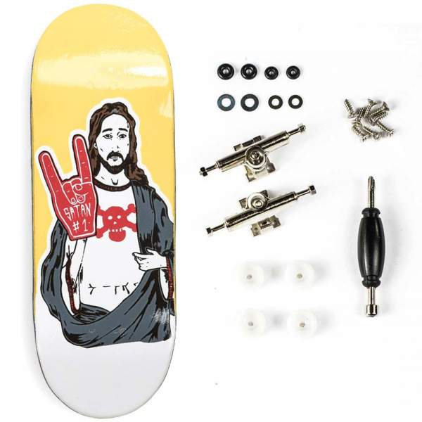 "Berlinwood ""Blackriver Jesus"" inkl. Bollie Setup"