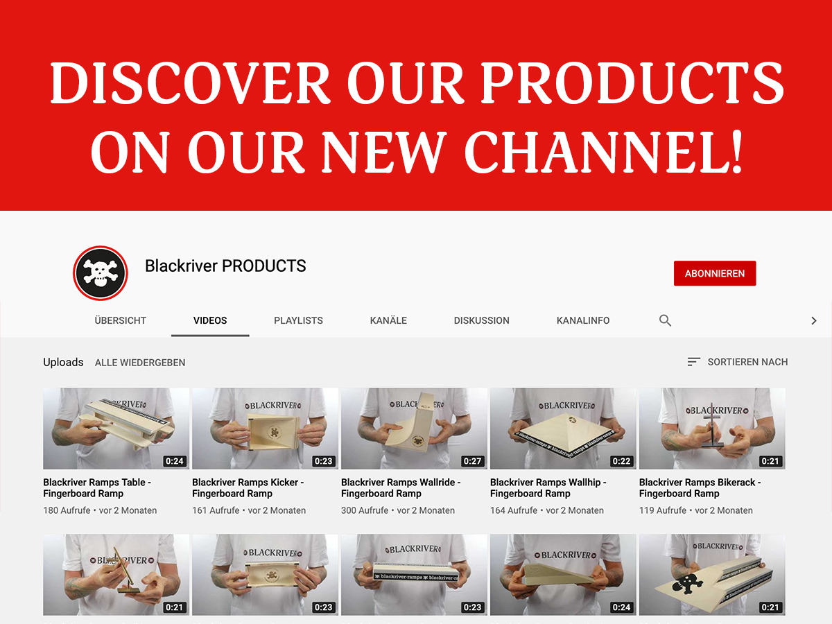 Introducing Blackriver PRODUCTS – a YouTube channel just for our products!