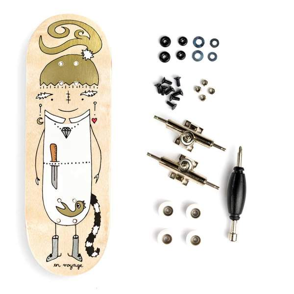 "Berlinwood ""EnVoyage - Huntress"" inkl. Bollie Set"